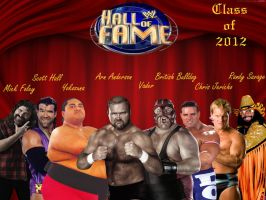 WWE Hall of Fame 2012 by deviantfafnir