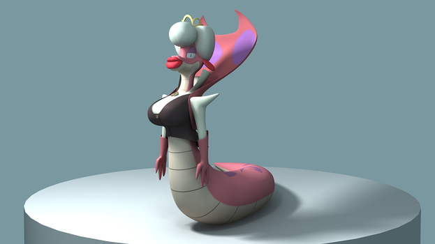 Madame Lilith 3D Model by skunkdude13