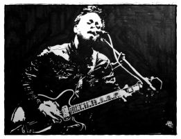 Dan Auerbach by SugarSpiders