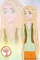 Divergent AU: Rapunzel in Amity faction [4/5] by DianAxColibrY