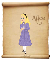 Western Disney - Alice - Colored Version by daKisha