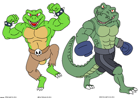 Croc Guys by artographer-513