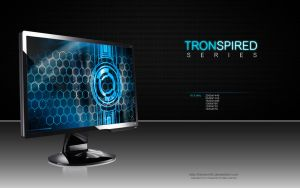 Tronspired Blue by CylenthVision