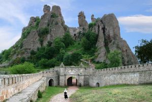 Belogradchik Rocks N7W by AgentSaSu
