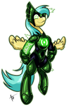MLP: Blackest Night - Alpha Raindrops by Cynos-Zilla