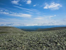 Mt Jacques Cartier by InOnesMindsEye
