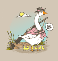 Badass Mother Goose by chiili