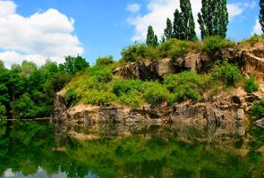 Old quarry by vlocka5555