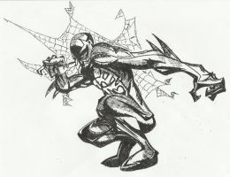 Spider-Man 2099 by Cryogonal