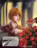 Armin:What are you doing?I am a boy! by RikaMello
