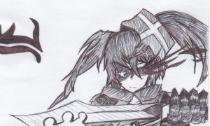 Insane Black Rock Shooter by iranimax2000