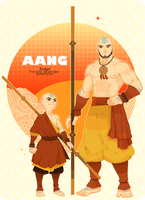 AANG!! by freestarisis