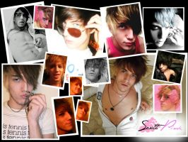 Scott Pink collage wallpaper by Precious-Love
