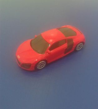 Audi R8 from Uni-Fortune (red version) by Wael-sa