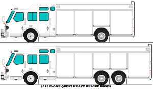 2013 E-one Quest Heavy Rescue Bases by mcspyder1