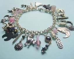 Pagan charm bracelet ON HOLD by silverlode