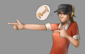 Pow Haha! Classic Scout by CuteC3