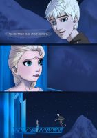 Take My Hand.  Jack and Elsa Crossover by RoxyRoo