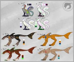 Adoptables Points [OPEN] by Wolf-Lisa