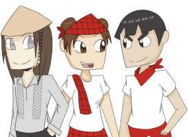 Team Gai: Pinoy Style by Cheese1300