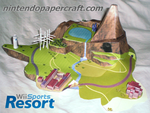 Wii Sports Resort Papercraft by kamibox