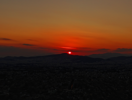Greece -42- : Sunset -7- by IoannisCleary