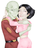 Kif and Amy by sophie427