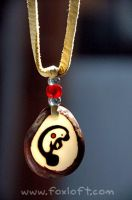 Manatee Totem Tagua Pendant by Foxfeather248