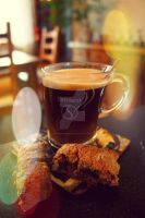 Coffee and Cookie by Power-Barbie