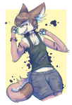 Goretober 1 Lacerations by Vullo