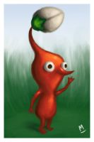 Red Pikmin by M-Thirteen