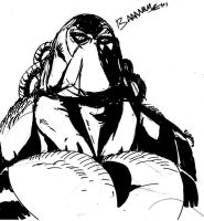 Bane-sketch by mikewinn