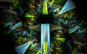 chaotic glass thorns by Andrea1981G