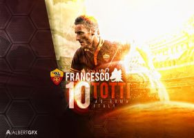 Francesco Totti by AlbertGFX