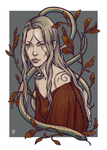 Autumn Snakes by Rvannith