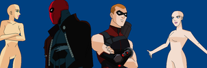 Base Request: OCs and Red Hood and Arsenal by GalaxyGirl5