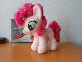 Pinkie Pie plushie by Tis-the-cat