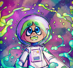 SQUIDS IN SPACE by Kozakana