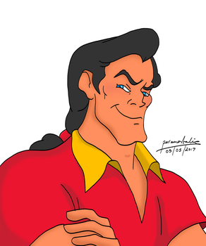 2D Practice - Gaston by paramortalics