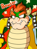 King Bowser Koopa by MrBowz