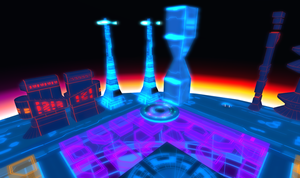 Tron 80's Style Build Second Life image 2 by Maiamimo