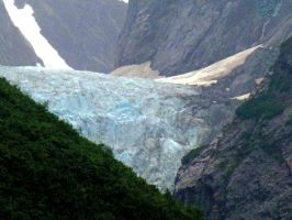 South Sawyer Glacier by NodokaVisualArts