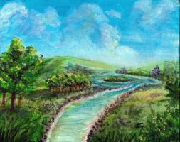 Landscape Painting Practice by animalartist16