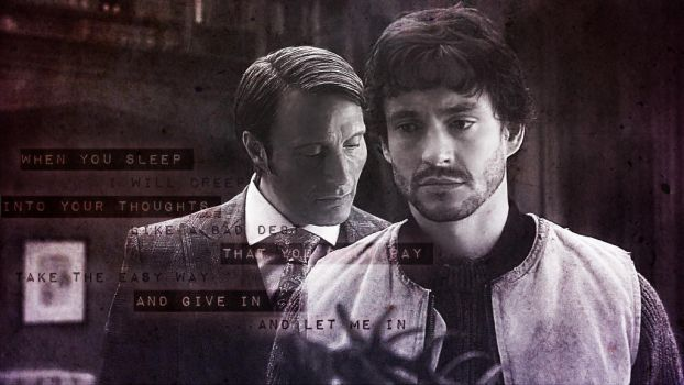Hannigram Wall/Edit: the more you ignore me [mk2] by Nephilim-Phoenix