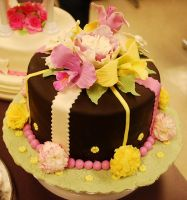 Orchid Cake - 2 by BPHaines