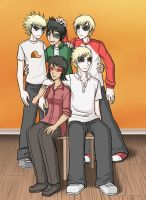 HS - Post LC - Strider family pic by ChibiEdo