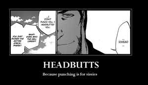 Truth : Bleach 10 Headbutts by DRUNKENunicorn756