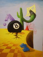 Eight Ball by jesus-at-art