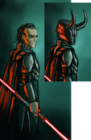 Loki: Sith Lord WIP by AndrewKwan