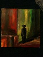 Man in the hat by annazulawska
